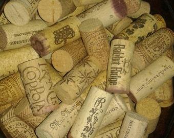 Wedding Decor/Lot of 100 Corks/Wine Corks