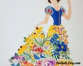 Snow White Flower Dream