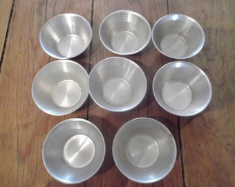 VINTAGE PASTRY CASES, set of 8, kitchenalia, cottage chic, cookware, baking