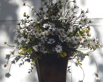 Spring Wreath , Summer Wreath , Woodland Wreath , Primitive Wreath , Wall Pocket , Outdoor Wreath
