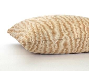 Rust Pillow Cover Faux Wood Grain Upholstery Fabric Decorative Pillow Throw Pillow Cover Euro Sham 26x26 24x24 22x22 20x20 18x18 16x16