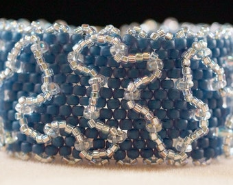 Peyote Squiggle Bracelet