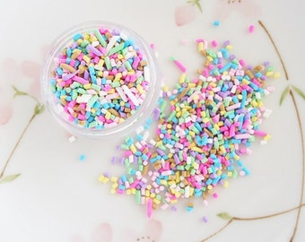 3gram - Colorful Clay Candy Sprinkles Mix Decoden Cabochon CLY10006