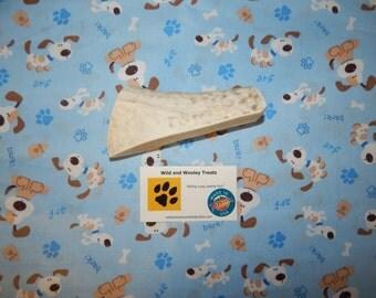 "Organic XL Elk Antler Dog Chew Split ""Made in Montana"" (Lot W59)"