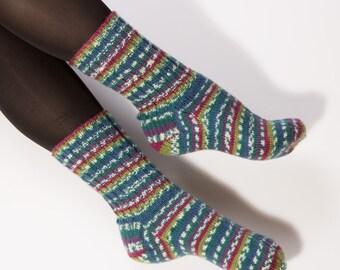 sale!!!Hand knitted socks