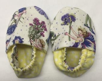 Flower Fairy Baby Slippers