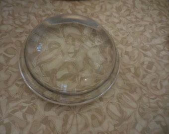 Vintage Glass Domes For Paperweight Making Heavy Round DIY Crafts
