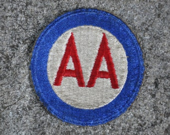 WW2 US Army Anti Aircraft Command patch, insignia, military collectable