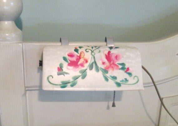 1950s Bedroom Reading Light Headboard Clip Light Hand