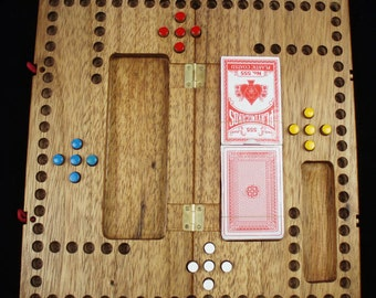 Pegs and Jokers Classic American Wood Game
