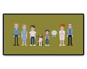 Flight of the Navigator - Cross Stitch PDF Pattern