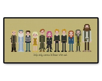 Harry Potter's Friends - Cross Stitch PDF Pattern