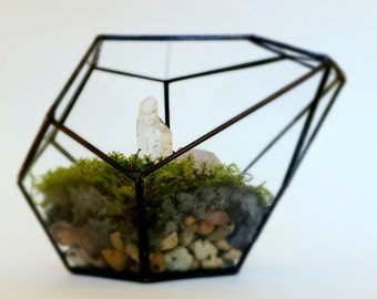 Terrarium / Glass Planter / Geometric Terrarium / Indoor Planter