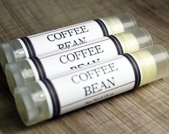Coffee Bean Lip Balm - Handmade Lip Balm