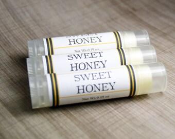 Sweet Honey - Handmade Lip Balm- Honey Lip Balm