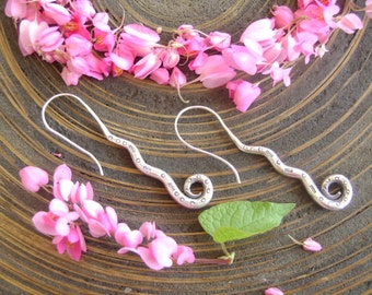 Thai Hilltribe Silver Earrings - The Solid Silver