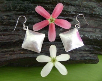 Thailand Silver Earrings - The Geometry Silver (22)