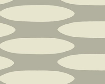 """1 Yard Home Decorating Curious Nature STEPPING STONES Silver David Butler 54"""" WIDE Fabric"""