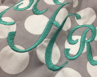 Infinity Scarf FREE Embroidery Included