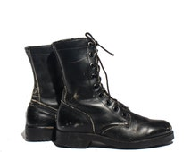 8.5 R | Men's 1972 Combat Boots Standard Issue Military Lace Up Boot