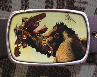 King Kong Belt Buckle 713