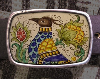 Pheasant Belt Buckle 720