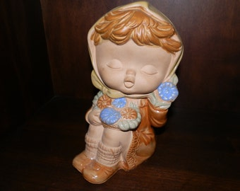 Vintage Flower Child Hankyu Figure-Japan