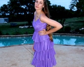 Lavender Lilli Diamond Dress