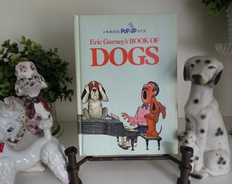 1973-Eric Gurney's book of Dogs - pop-up book