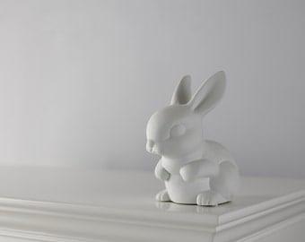 Ceramic bunny Night Light