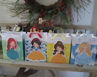 Princess Bags Set of 12