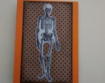 Skeleton Gift Card Holder