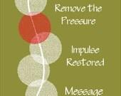 "Chiropractic Nerve Impulse Poster 18"" X 24"""
