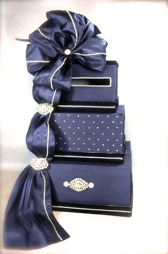 Wedding Card Box Navy Blue Wedding Card Box Gift Card Box