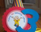 NEW - Caillou Birthday Hat