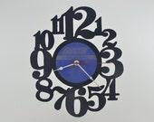Handmade Vinyl Record Wall Clock Hanging Clock  (artist is The Rolling Stones)
