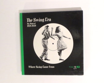 Vintage Time Life, The Swing Era, The Music of 1938-1939, Where Swing Came From, 3LP BOX set & Book, Vinyl, Records,