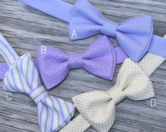 Bow Tie for Kids, Lavender Bow Tie, champagne bow tie, lavender bowties, lilac bow tie, groom bow tie