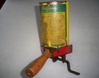 Vintage Sears Roebuck Seed/Fertilizer Hand Held Spreader