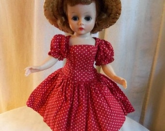 50s Madame Alexander Cissette Doll Includes Doll, Dress, Hat and Shoes  In very nice condition