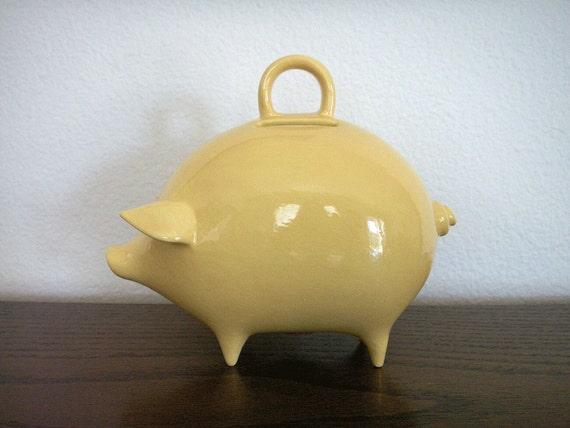 Ceramic piggy bank - Extra large ceramic piggy bank ...