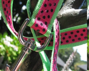 Summer Watermelon Dog Leash