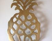 Pineapple Brass hotplate