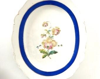 Antique Gigantic ironstone  platter / plate