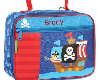 Personalized Lunch Box Bag Stephen Joseph Pirate