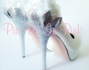 Wedding Rose Heels