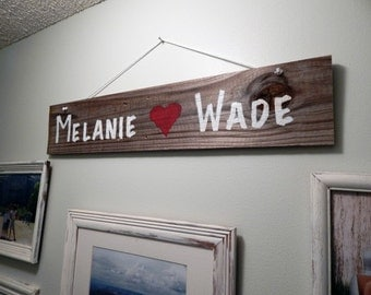 Rustic reclaimed wooden sign. Home decor. Gifts. wall decor