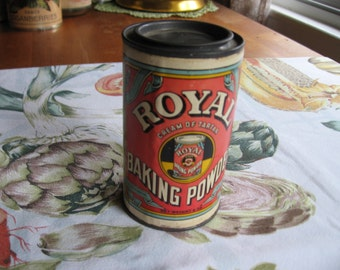 Royal Baking Powder Cream of Tartar Can