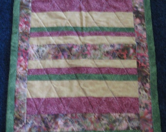 Quilted Table Topper Table Runner