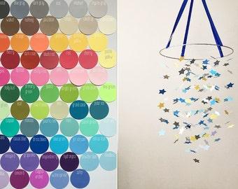 Custom Star Mobile DIY Kit  /// Choose your colors